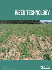 Cover of Weed Technology Publication