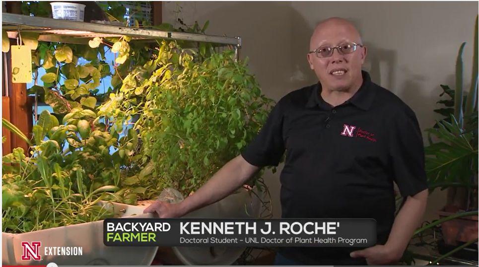 Kenneth Roche, Backyard Farmer, Doctor of Plant Health, DPH