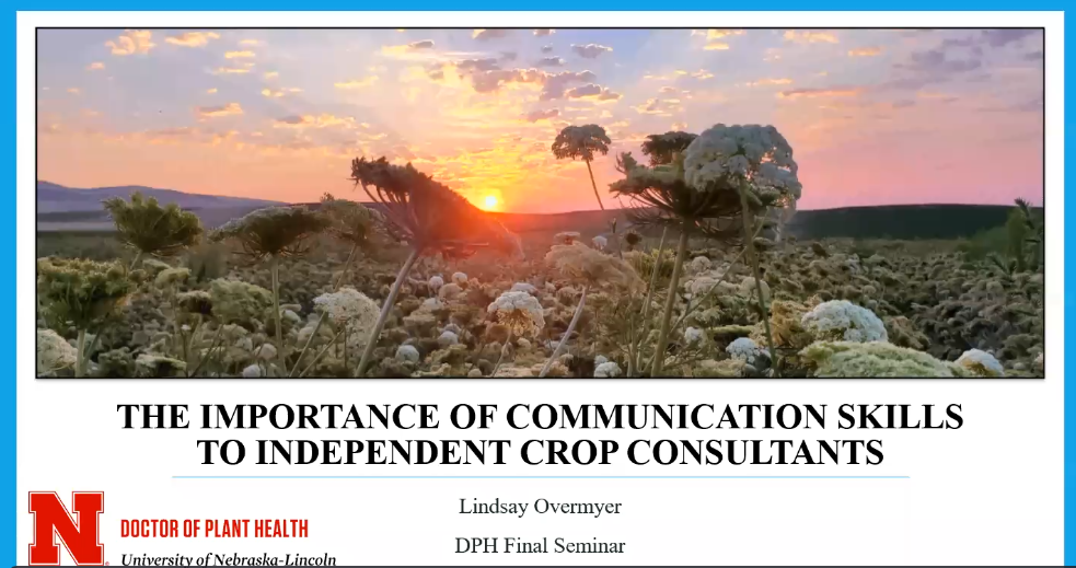 Lindsay Overmyer title page of final seminar