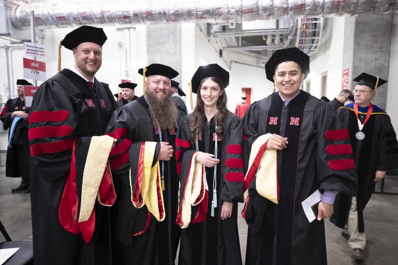 UNL Graduate Commencement - May 3rd, 2019 DPH Graduates - Photo Credit: Craig Chandler, Office of University Communication